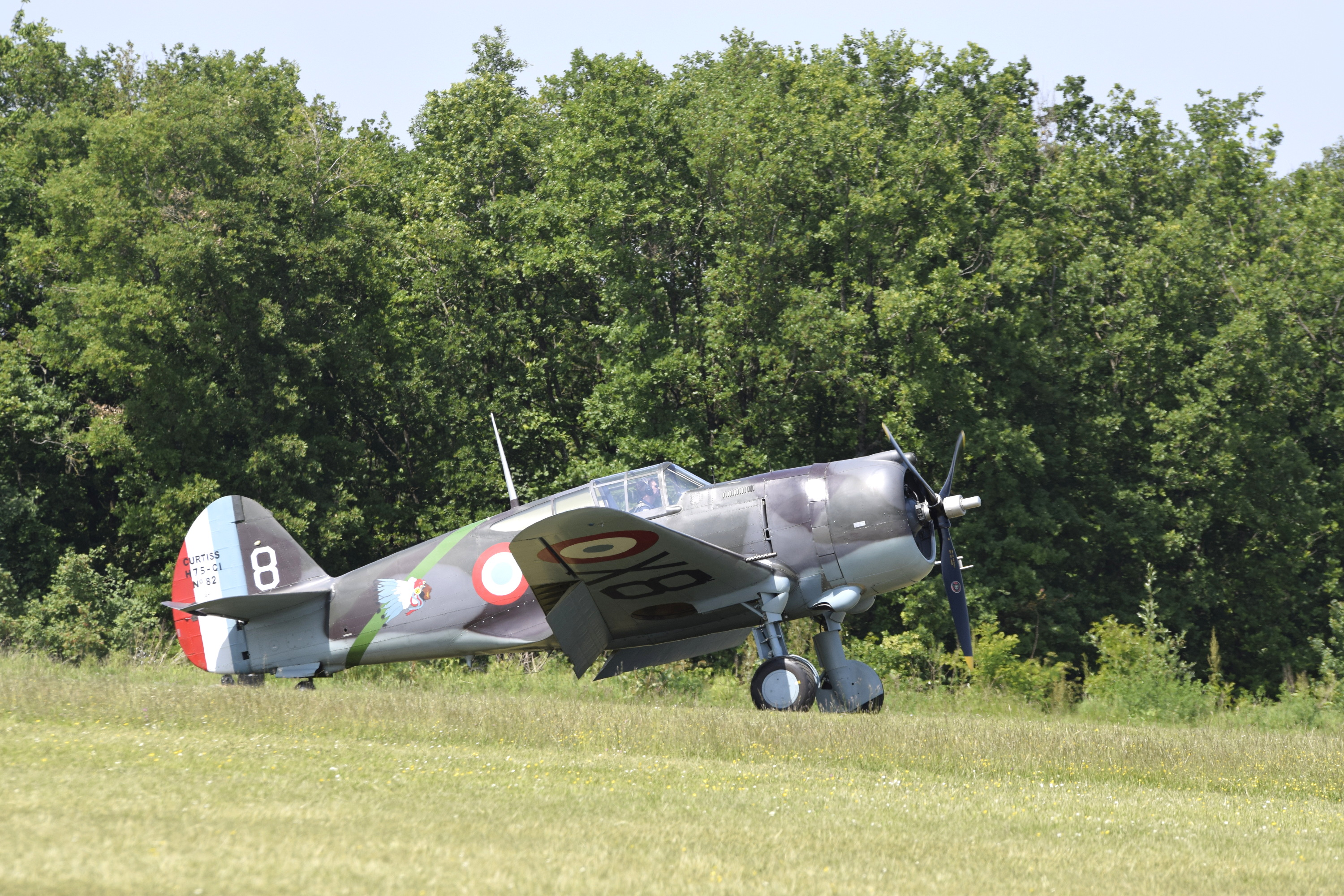 Curtiss Hawk  H-75A-1 (G-CCVH)
