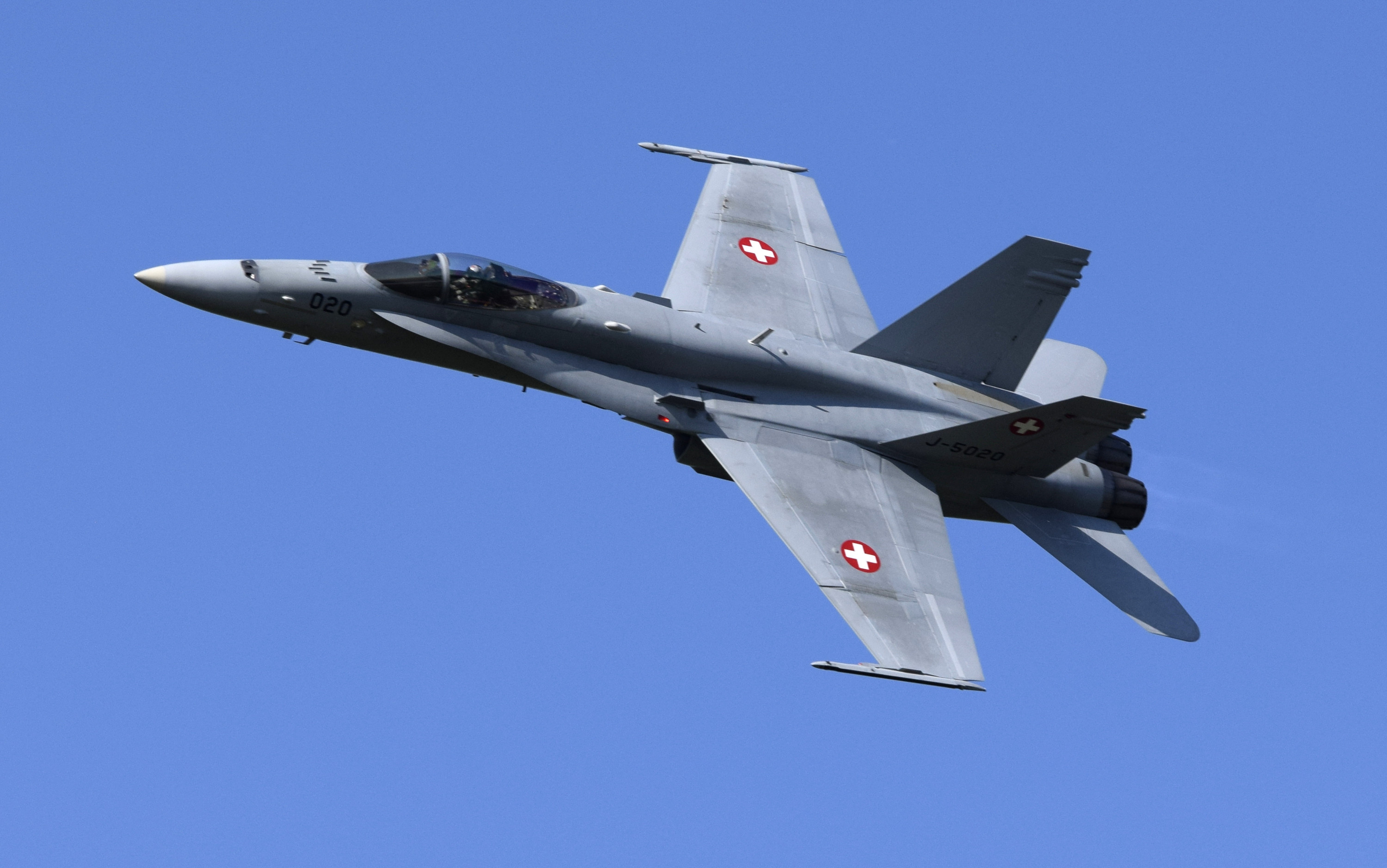 F/A-18 Hornet Solo Display Swiss Air Force