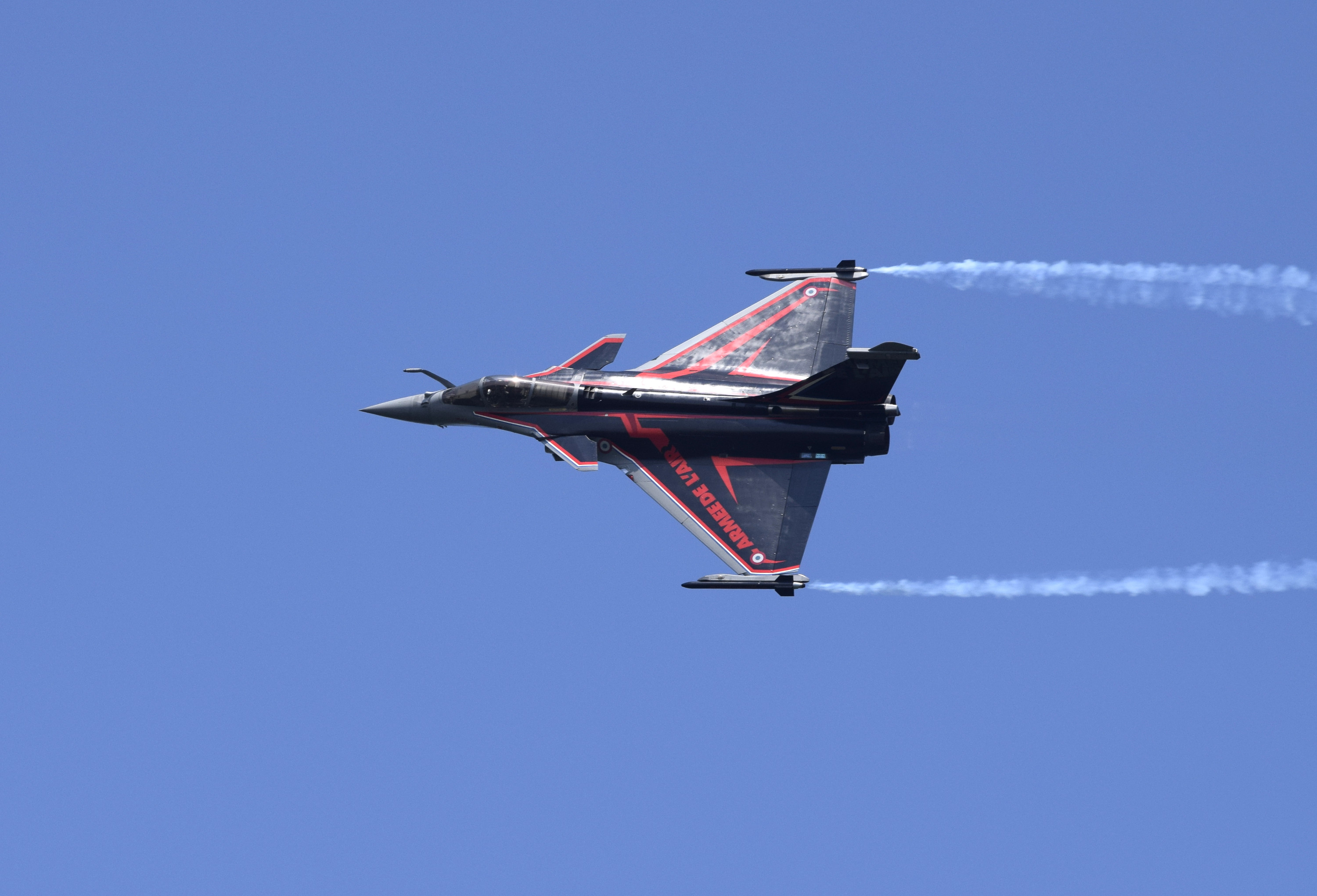 Dassault Rafale Armée de l\'Air solo display