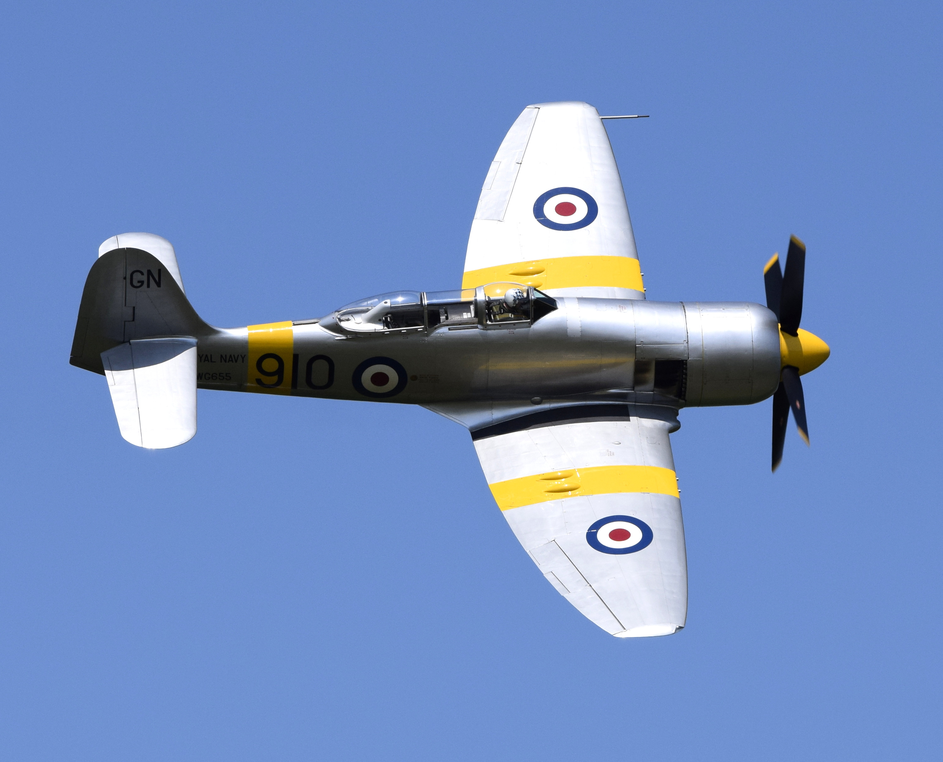 Hawker Sea Fury T.20 (WG655)