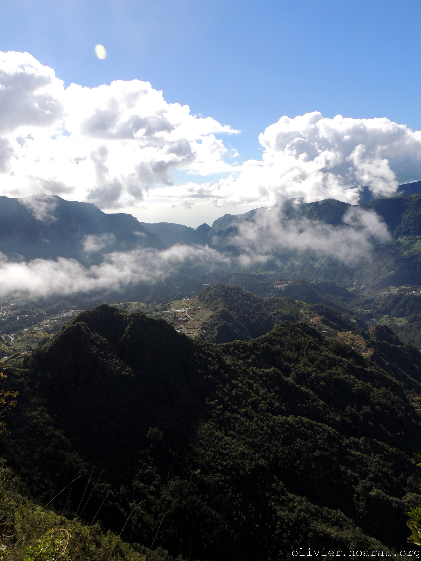 Panorama du piton d\'Anchaing